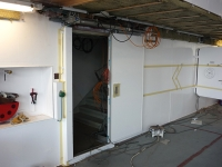 A60 sliding door - pneumatic - left