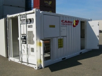 A60 Offshore container door - opened