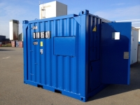 A60 Caru offshore container door  - opened