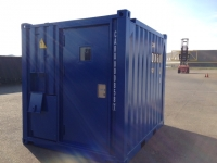 A60 Caru offshore container door - closed