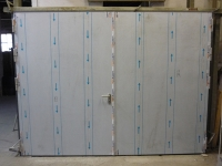 THORMARINE A60 double leaf stainless steel door
