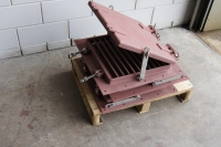steel ventilation grill with cover