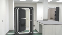 Heavy duty watertight door - inside front view