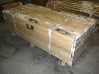 Watertight doors ready for despatch -  ISPM15 crate