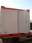 Container door with DIN clips 2