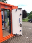 weathertight quick pin door