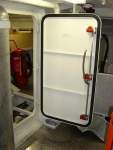 Central closed watertight door - QuickPin inside