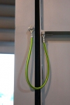 Watertight door - earthing cable