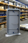 Painted quick acting watertight door - inside