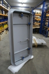 Painted quick acting watertight door - side