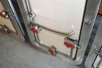 Watertight door inside detail