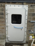 watertight quick pin door