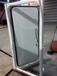 steel watertight door closing inward