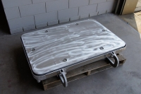 watertight flush aluminum hatch 3