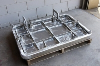 watertight flush aluminum hatch 2