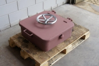 watertight hatch with handwheels closed